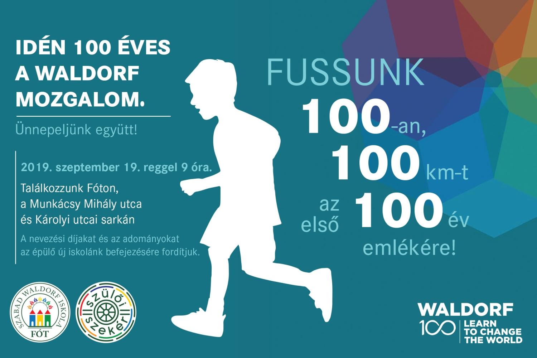 W100 futás