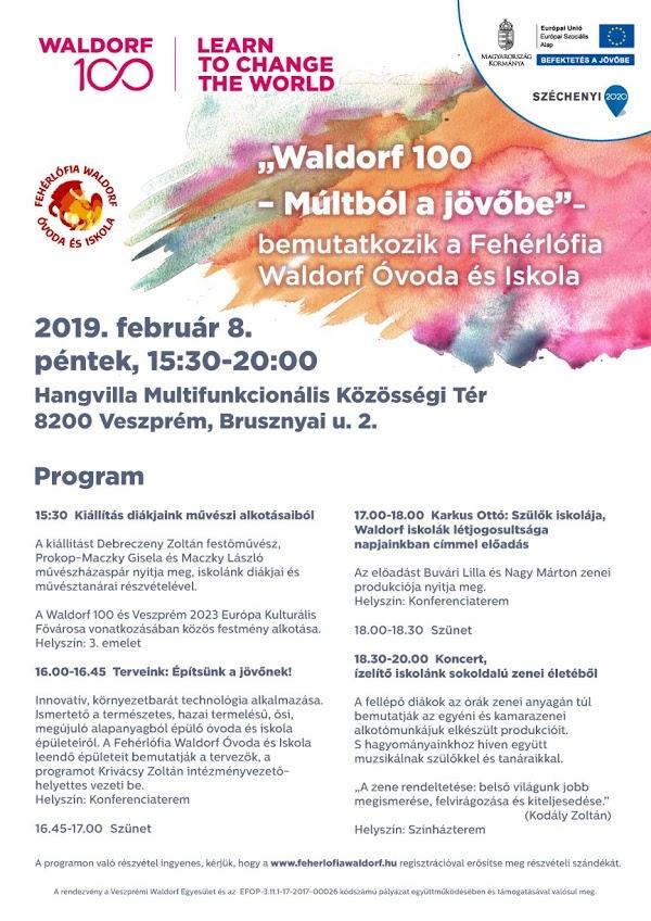 Waldorf 100 - Múltból a jövőbe