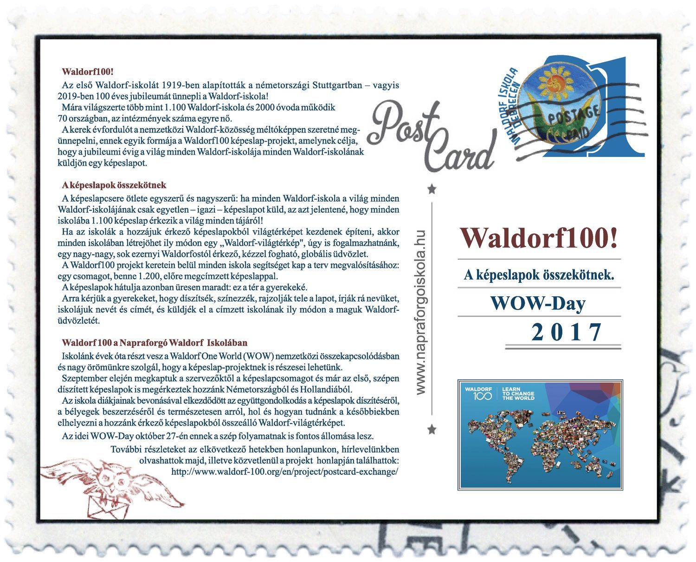 Waldorf100 képeslapok