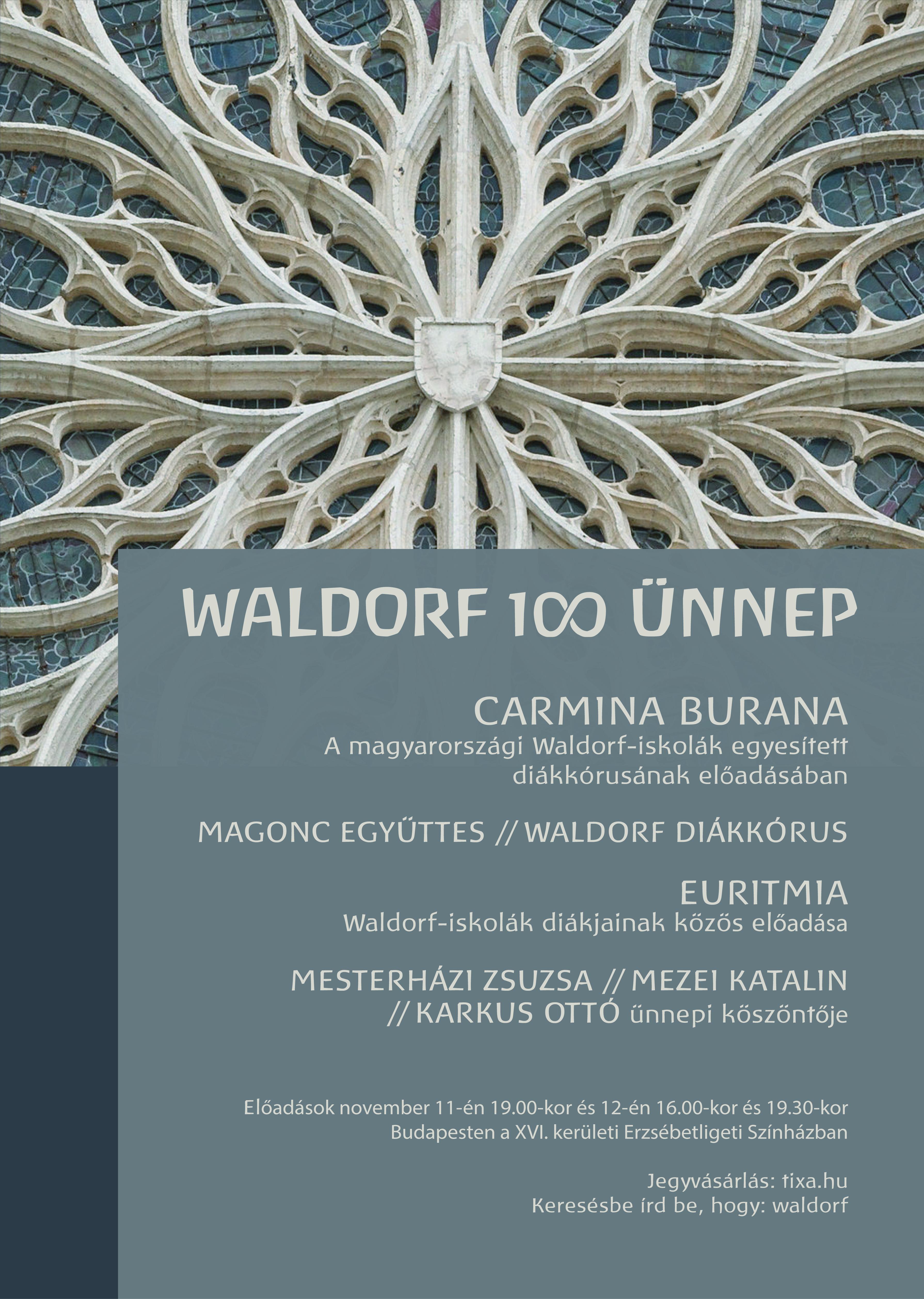 Waldorf 100 színházi ünnep